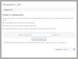 WebStore Order Step 1