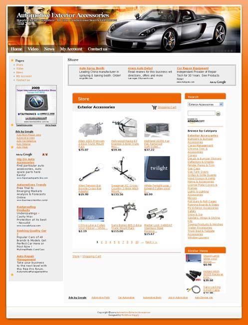 Plus design automotive selections dowib affiliate website for Car exterior design software download